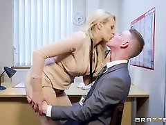 Brazzers - Hot Hefty Tit Manager Wants Some Big Cock