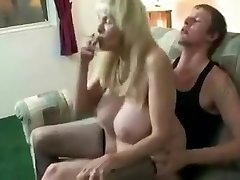 Incredible Amateur vid with Stockings, Smoking scenes
