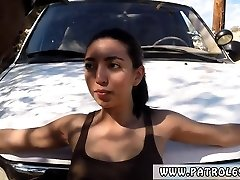 Police dame hd Latina Babe Torn Up By the Law