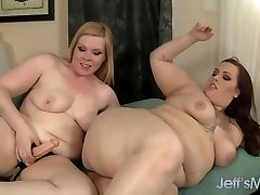 Insane lesbian plumpers Phoenixxx Bbw and Liena Kuryakin