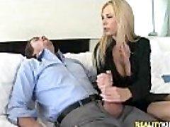Brooke Tyler gets pussy romped in Trouser Snake Bonus by BigTitsBoss