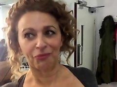 Nadia Sawalha Demonstrating Big Tits