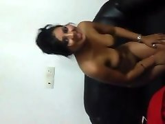Indian Girl Flashing breasts