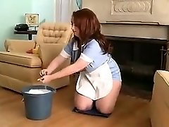 chubby maid for red-hot sex