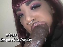 Incredible Saliva Producing Mouth For Messy Head- DSLAF