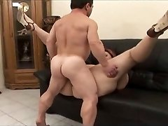 Midget fucker satisfies a woman