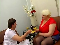 Plus-size Mature Blonde
