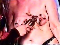 Horny homemade Fetish, BDSM adult flick