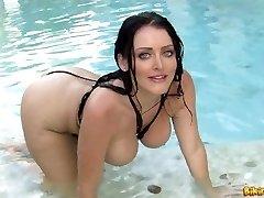 Sophie Dee bathing suit riot