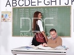 School Female Alexis Brill Boinked in Class