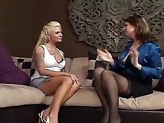 Impressive Lesbian Mature & Milf xxx scene