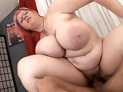 BBW with big boobies fucked