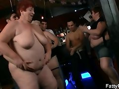 Bbw start messy party