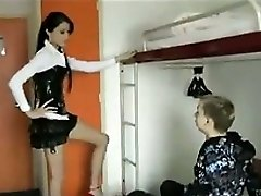 Russian Whore Having Intercourse With A Schoolgirl
