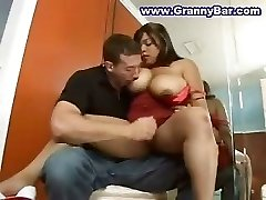Humungous Chubby BBW Mature Mother Mom Fucked Hard