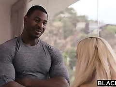 BLACKED Sugar Baby Plumbs Bbc While Daddy Is Out