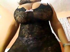 Crazy homemade Solo Girl, Big Boobies sex clip