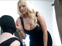 Brit Goddess Humiliates Her Submissive Cuckold Husband