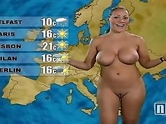 Naked Weather Woman