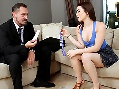 Kylie Quinn in The Needy Baby Sitter - TeamSkeet