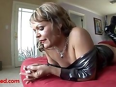 ugly elderly grandma gets fuck head by big black negro trouser snake and