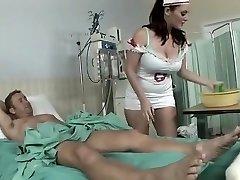 Amazing homemade Nurse, Good-sized Tits adult episode