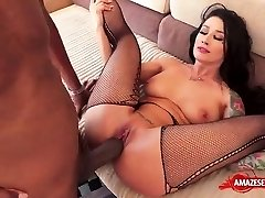 Tattoo pornstar hardcore and cumshot