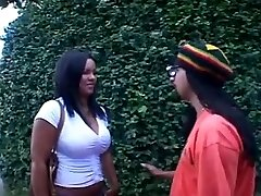 Ebony Brazilian Dame for White Boys