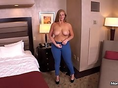 Ginger gets thick booty fucked POV