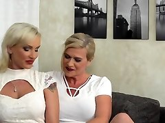 Steamy Cougar doing a heavily pierced lesbian housewife
