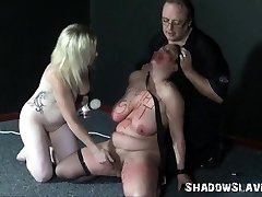 All Girl slaves bizarre insertions and hardcore domination sex of inexperienced bb