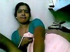 Indian Mature Black Maid teasing her master