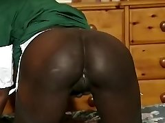 Finest amateur Black and Ebony, Ginormous Tits sex video
