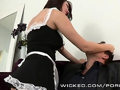 Holly Michaels is one red-hot maid