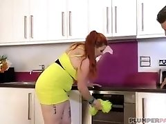 Spanish Plumper Babe Maria Bose is a Nice Maid