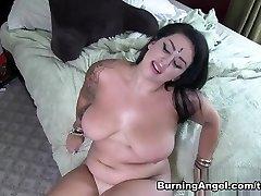 Incredible superstars in Amazing BBW, POV porno video