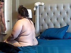 plumper upset during assfucking caught on IP cam
