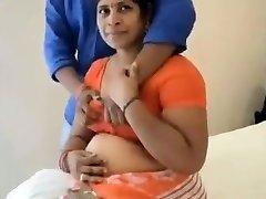 Indian mom fuck with teenie boy in hotel room