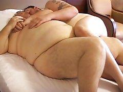Chub fucks his fat dad