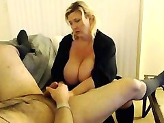Squirting Waitress Gets Fucked Like A Boss!