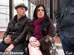 Spanish Cougar Picked up in Public and Dp'd