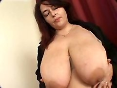 phat titted plump mature gets boned