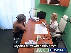FakeHospital Hot wet pussy solves wood problem