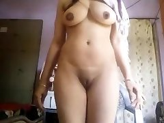 Super Hot Humungous Boobs Desi Doll Nude Selfie