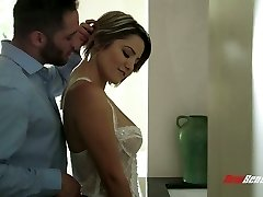 Buxom wifey Alix Lovell is always prepped for such emotional sex with her husband