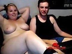 Chubby BDSM Blonde Hidden Cam - Chattercams.net