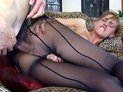 Buttfuck-Pantyhose Video: Rosa and Gerhard