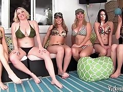 Vicky Vette's Surroundings Orgy! 6 Girls!