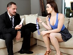 Kylie Quinn in The Needy Childminder - TeamSkeet