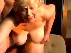 Blonde lush grandma.